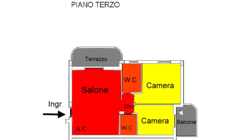 Appartamento – Taverna - Tutte le planimetrie