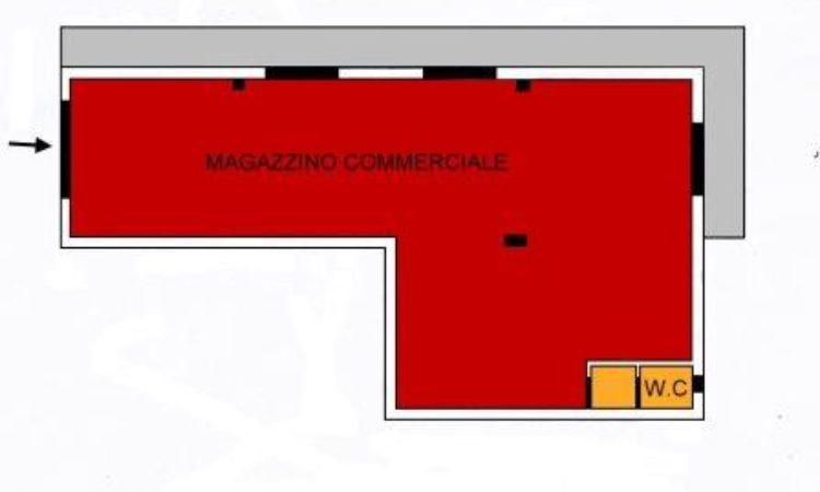 Magazzino Commerciale – Settimo - Tutte le planimetrie