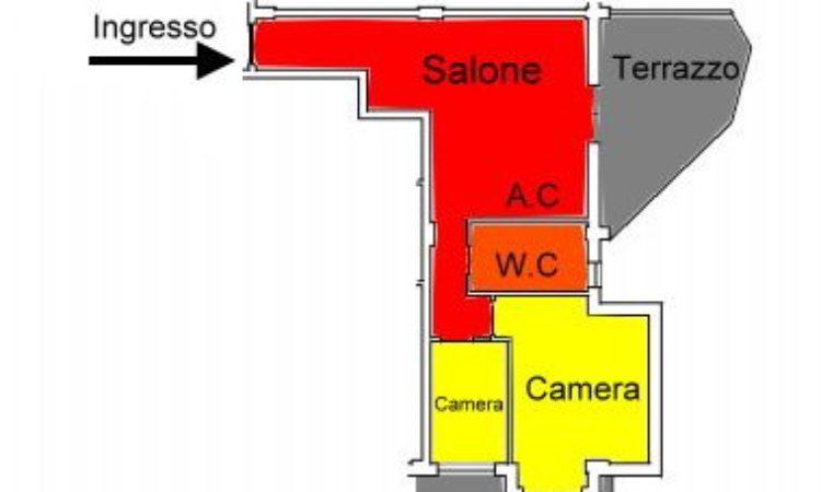 Appartamento – Rose - Tutte le planimetrie