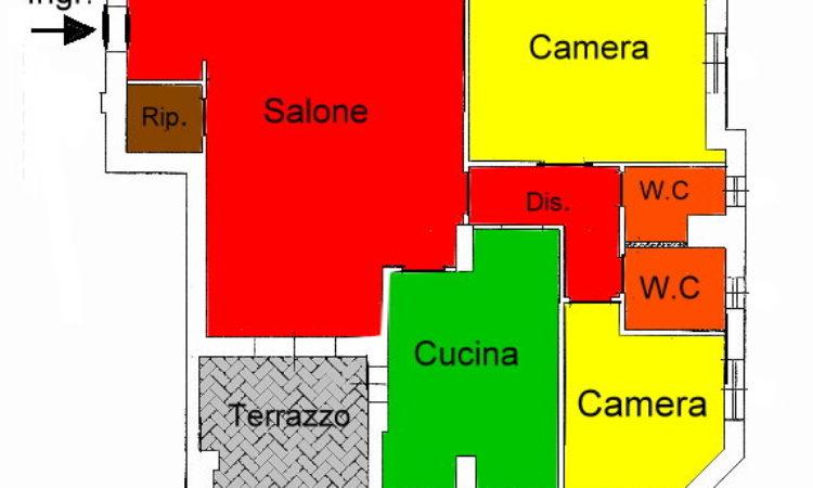 Appartamento- Rende - Tutte le planimetrie