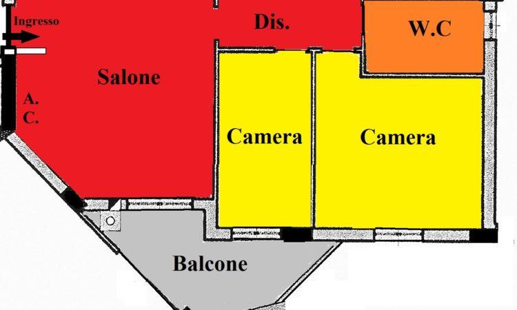 Appartamento – Settimo - Tutte le planimetrie