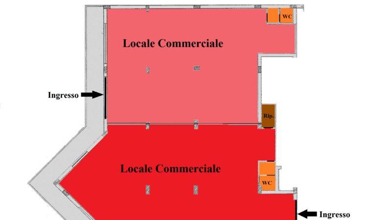 Locale Commerciale- Rose - Tutte le planimetrie