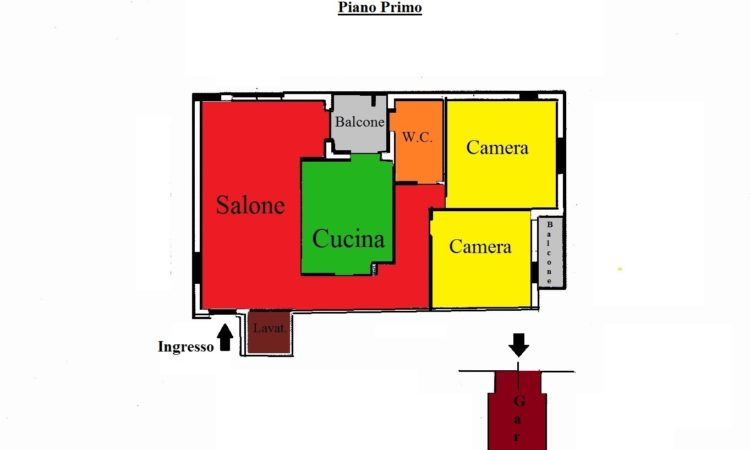Appartamento –  Montalto Uffugo - Tutte le planimetrie