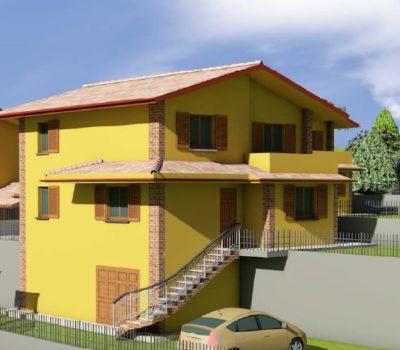 Villa Monofamiliare tre livelli-Montalto Uffugo