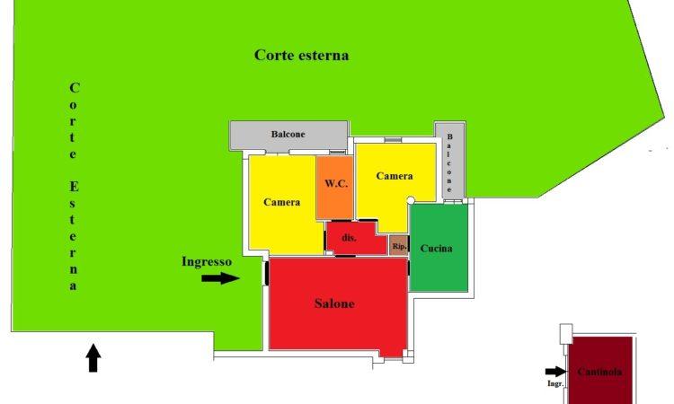 Appartemento – Bivio Luzzi - Tutte le planimetrie